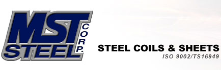 MST Steel Corp. | Stainless Steel Coils & Sheets | ISO 9002 / QS9000 Certified